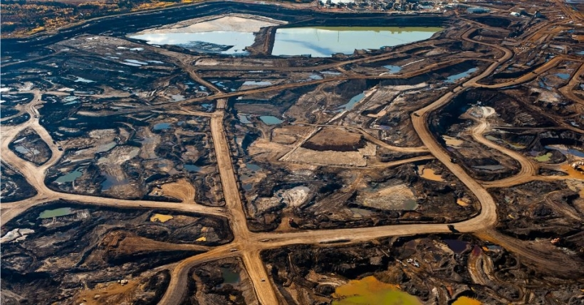 Tar sands blight